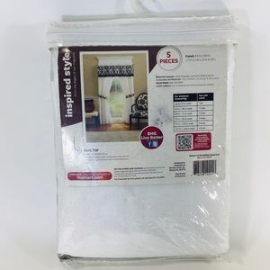 """Better Homes And Gardens Accents - Window Set 5 pieces 84"""" Better Homes and Gardens"""
